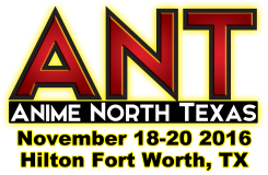 Anime North Texas 2016 Schedule!